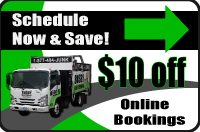 Click to schedule appliance hauling online!