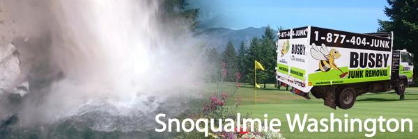 ... Snoqualmie Wa Junk Removal