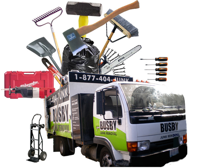 Seattle Junk Truck: Busby Junk Removal Equipment List
